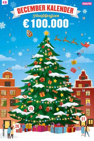 December Kalender 2020 €5