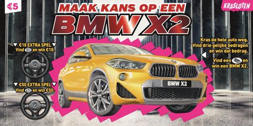 Maak kans op een BMW X2