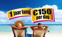 1 Jaar Lang €150 per dag